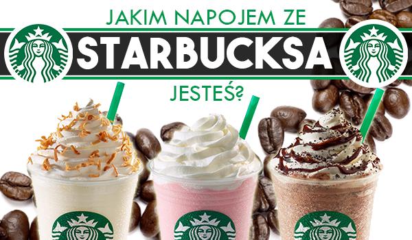 Jakim napojem ze Starbucksa jesteś?