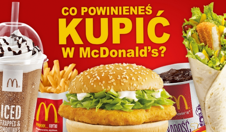 Co powinieneś kupić w McDonald's?