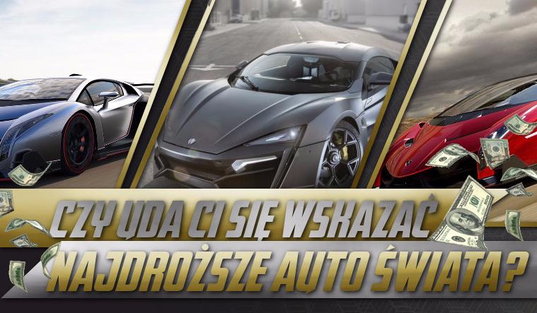 Czy uda Ci się wskazać najdroższe auto świata?
