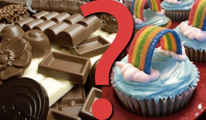 """20 pytań z serii """"Co wolisz?"""" dla miłośników słodyczy!"""