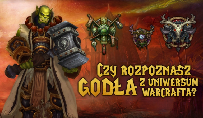Czy rozpoznasz godła ras/frakcji z uniwersum Warcrafta?