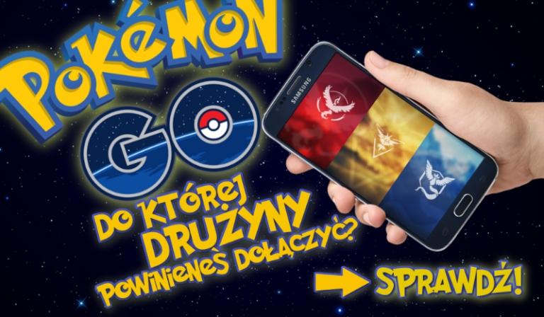 Do której drużyny Pokemon Go powinieneś dołączyć?