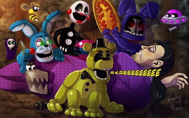 Głosowanie   Five Nights At Freddy's  [część 2] | sameQuizy