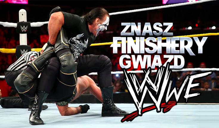 Czy znasz finishery gwiazd WWE?