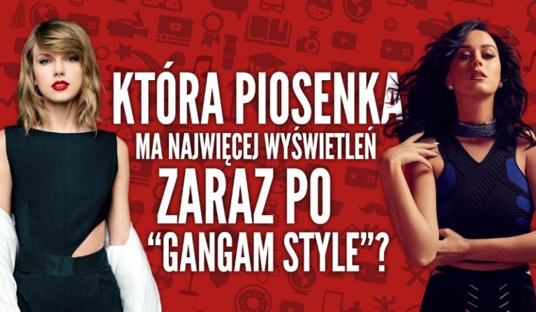 """Czy odgadniesz, która piosenka na YouTube ma najwięcej wyświetleń zaraz po """"Gangam Style""""?"""