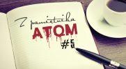 Z pamiętnika AtQM #5 ~ Ał... To bolało