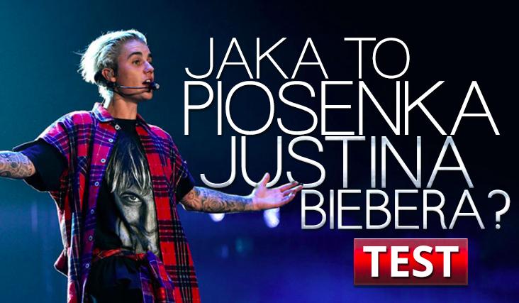 Czy wiesz co to za piosenka Justina Biebera?