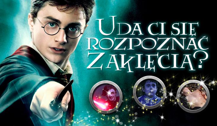 """Jak dobrze znasz zaklęcia z """"Harry'ego Pottera""""?"""
