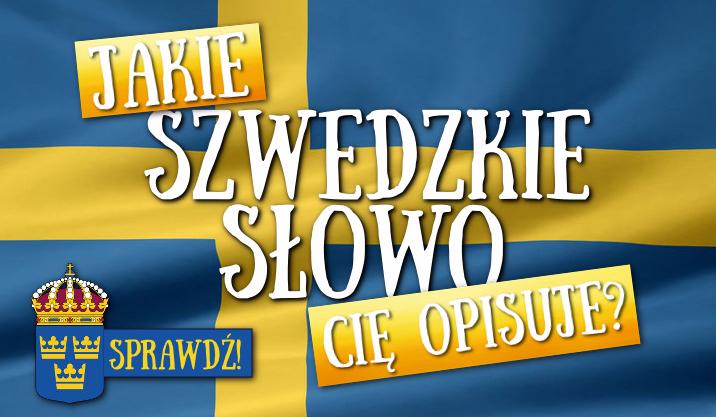 Jakie szwedzkie słowo Cię opisuje?