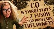 Co wywróżyłbyś z fusów od profesor Trelawney?