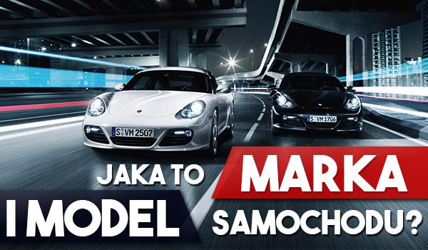 Jaka to marka i model samochodu?