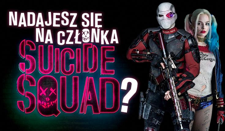 Czy nadajesz się na członka Suicide Squad?