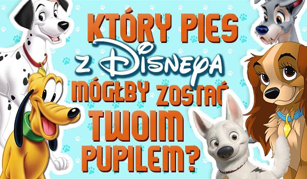 Który pies z Disneya mógłby zostać Twoim pupilem?