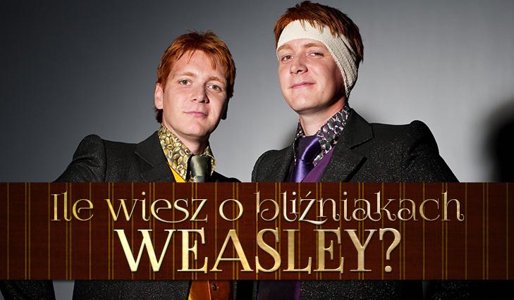 Test wiedzy o Fredzie i George'u Weasleyach!