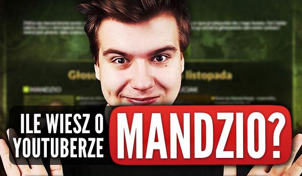 Ile wiesz o YouTuberze, który nazywa się Mandzio?