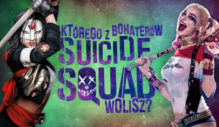 Którego z bohaterów Suicide Squad wolisz?