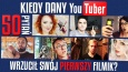 Czy odpowiesz na 50 pytań dotyczących tego, kiedy dany YouTuber wrzucił swój pierwszy filmik na YouTube?