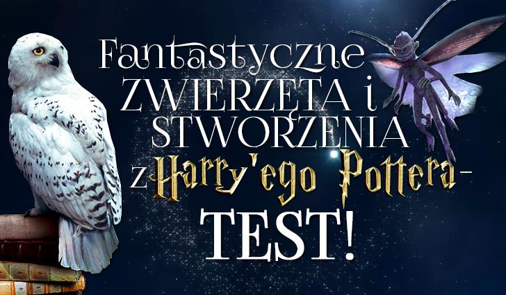 Fantastyczne zwierzęta i stworzenia z Harry'ego Pottera – Sprawdź swoją wiedzę!