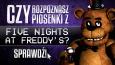 """Czy rozpoznasz piosenki z """"Five Nights at Freddy's""""?"""