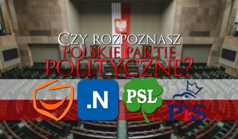 Czy rozpoznasz polskie partie polityczne?