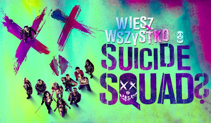 """Jak dobrze znasz obsadę, muzykę i treść filmu """"Suicide Squad""""?"""