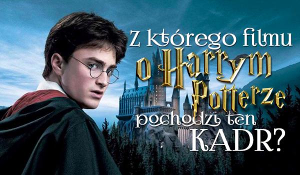 Czy rozpoznasz z jakiego filmu pochodzi to ujęcie? – Seria o Harrym Potterze!