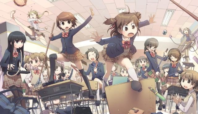 Znalezione obrazy dla zapytania anime szkoła