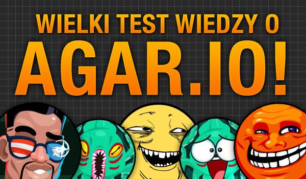 """Wielki test wiedzy o """"Agar.io""""!"""