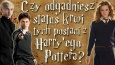 Czy odgadniesz status krwi niektórych postaci z Harry'ego Pottera?