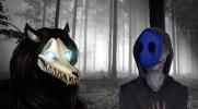 Eyeless Jack i SCP-1471-A-#2 Senny demon