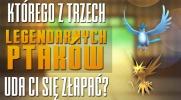 Jakiego z trzech legendarnych ptaków z Pokemon GO złapiesz?