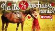 Na ile procent kochasz konie?