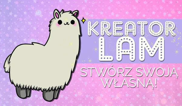 Kreator Lam – Stwórz własną lamę! Rainbow Llama #1