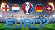 Czy pamiętasz, w którym kraju odbywały się Mistrzostwa Europy?