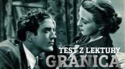 """Test z lektury """"Granica""""!"""
