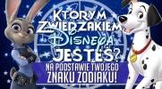 Którym zwierzakiem z filmów Disneya jesteś, na podstawie Twojego znaku zodiaku?