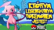 Którym legendarnym Pokemonem jesteś?