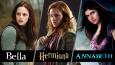 Jesteś bardziej jak Hermiona, Annabeth czy Bella?