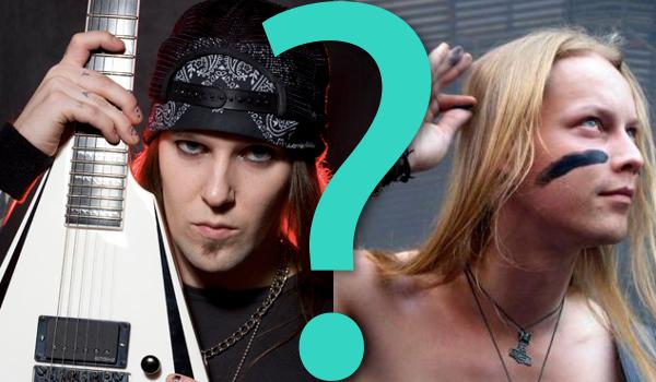 Który metalowy/rockowy muzyk jest przystojniejszy?