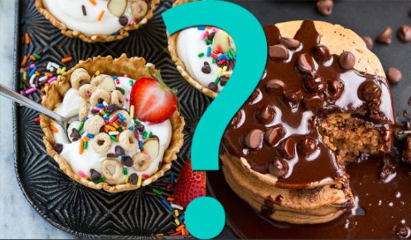 """15 pytań z serii """"Co wolisz?"""" – wersja jedzeniowa!"""