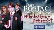 """Której postaci z """"Harry'ego Pottera"""" dasz prezent na Mikołajki?"""
