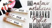 Jaka matowo-metaliczna pomadka Kylie do Ciebie pasuje?