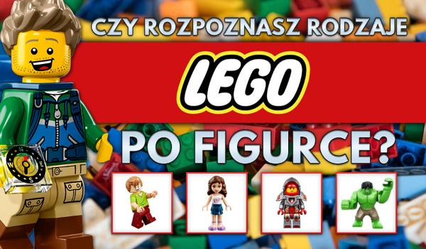 Czy rozpoznasz rodzaje LEGO po jednej figurce?