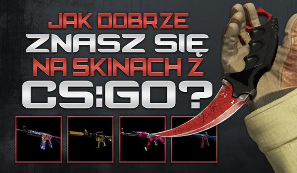 Jak dobrze znasz się na skinach z Counter-Strike: Global Offensive? #1