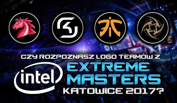 Rozpoznasz logo teamów z IEM Katowice 2017?