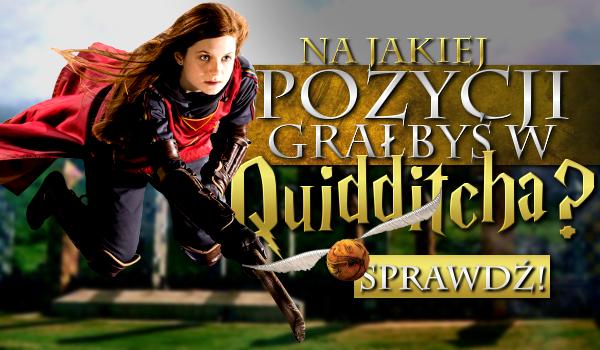 Na jakiej pozycji grałbyś w quidditcha?