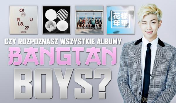 Czy rozpoznasz wszystkie albumy BTS?