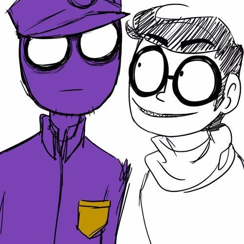 Картинки фиолетового парня из 5 ночей