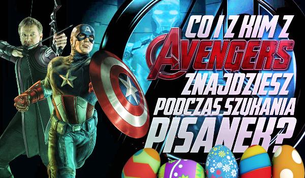 Co i z kim z Avengers znajdziesz podczas szukania pisanek wielkanocnych?