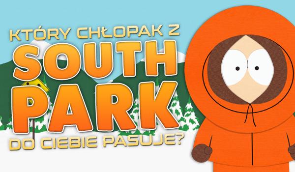 Który chłopak z South Park najbardziej do Ciebie pasuje?